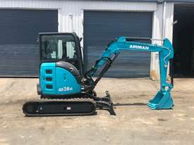 2020 NEW AIRMAN AX38UCG-6ASB EXCAVATOR : 3.7 ton Cabin model - picture0' - Click to enlarge