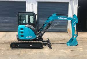 2020 NEW AIRMAN AX38UCG-6ASB EXCAVATOR : 3.7 ton Cabin model