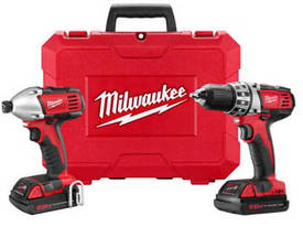 Milwaukee 18V DRILL/DRIVER LI-ION Combo Kit