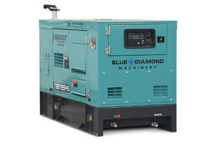 33 KVA Isuzu Diesel Generator 415V - ISUZU ENGINE - 2 Years Warranty