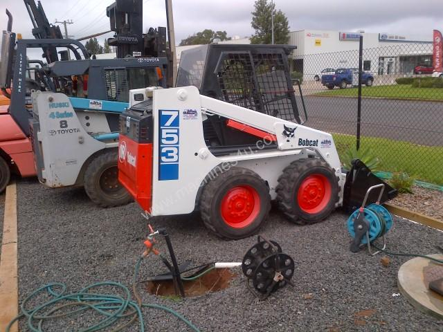 Used Bobcat 753 Wheeled Skidsteers In Griffith Wagga Wagga Nsw