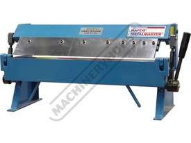 PB-24 Manual Panbrake 600 x 1.0mm Mild Steel Bending Capacity - picture0' - Click to enlarge