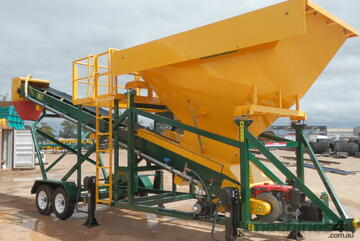 Thomas Standard Batching Plant with Diesel Engine