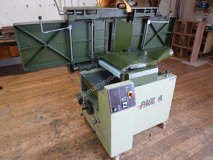 Used paoloni FS 515 Planer & Thicknesser in , - Listed on