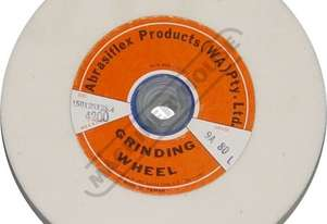 G171 White - Alox Grinder Wheel 200 x 25mm 80 Grit