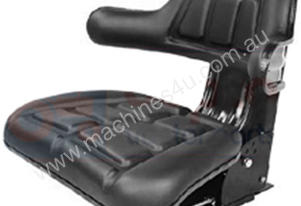TRACTOR SEAT ROUND BACK & ADJUSTABLE