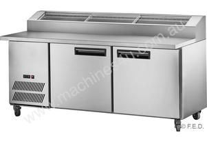 F.E.D. PPB/18 Two Large Door DELUXE Pizza Prep Fridge