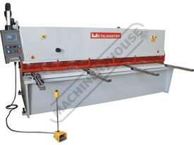 HG-4012 Hydraulic NC Swing Beam Guillotine - Deluxe 4000 x 12mm Mild Steel Shearing Capacity 1-Axis  - picture0' - Click to enlarge