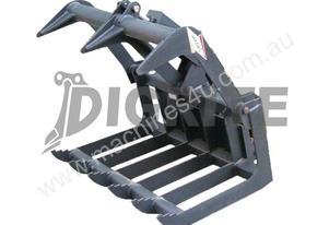NEW HIGH QUALITY MINI LOADER GRAPPLE BUCKET