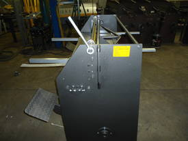 Keech corrugated hydraulic guillotine - picture9' - Click to enlarge