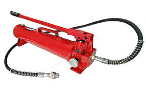 19085 - 50 TON HYDRAULIC HAND PUMP & HOSE ASSEMBLY WITH HANDLE