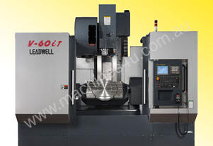 LEADWELL V-60iT 5 AXIS VERTICAL MACHINING CENTRE