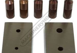 23N\8 Round Punch & Die Set 3, 4, 5, 6 & 8mm Punch Set Suits P6 Punch