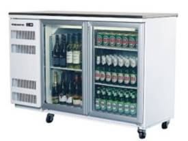 Skope 2 Door Backbar Fridge BB380 View Image(s) Sk - picture0' - Click to enlarge