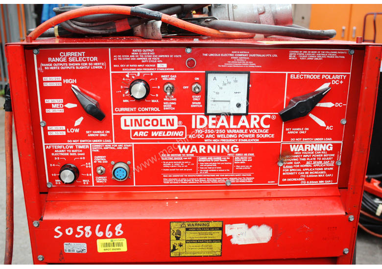 Used Lincoln Idealarc Tig