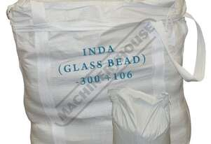 S297T Sandblasting Inda Beads Package Deal -300 + 106 INDA (Glass Bead) 40 x 25kg = 1 Tonne
