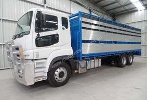 Fuso FV54 Stock/Cattle crate Truck