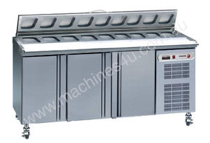 Fagor 3 Door Food Preparation Bench Air Over Well