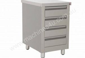 DCI0004 Stainless Steel 4 Drawer Cabinet