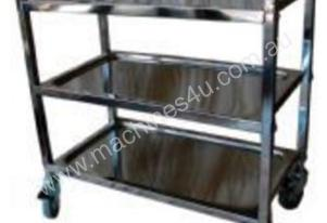 Ce Stainless Trolley 3 Tier