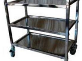 Stainless Trolley 3 Tier