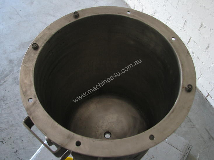 Industrial Stainless Jacketed Mixer - 25L