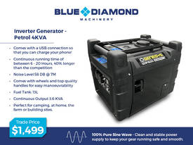 2.4 -7 KVA Pure Sine Inverter Portable Generator - picture3' - Click to enlarge