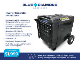 2.4 -7 KVA Pure Sine Inverter Portable Generator - picture5' - Click to enlarge