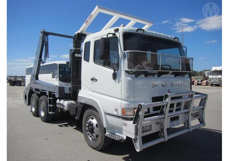 Used Mitsubishi Garbage Trucks for sale - 2009 Mitsubishi Fuso FV 500 ...