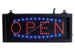 Or  LED Open Sign