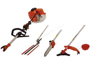 CHAINSAW & WIPPER-HEDGE 4 IN 1 KIT