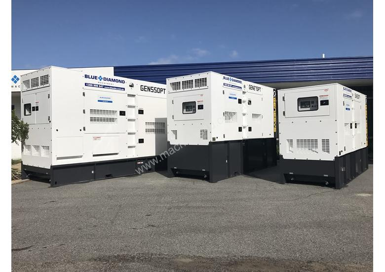 1375 KVA Containerised Diesel Generator 3 Phase 415V - Cummins or Perkins Powered