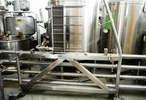 Spiroflow Tubular Heat Exchanger for Juice with Ta