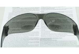 Magnum Safety Glasses - Bifocal Smoke Lens (+2.00)