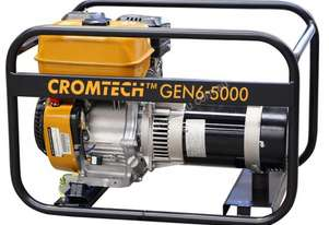 Cromtech Petrol 6.0kVA, powered by Subaru