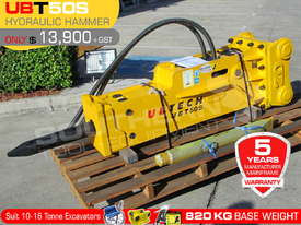 UBT50S Silence Hydraulic Hammer Rock Concrete Breaker ATTUBT - picture0' - Click to enlarge