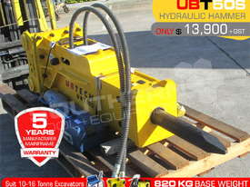 UBT50S Silence Hydraulic Hammer Rock Concrete Breaker ATTUBT - picture1' - Click to enlarge