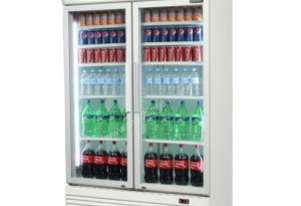 Bromic GM1000L Upright Chiller Fridge 2 Glass door