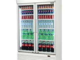 Bromic GM1000L Upright Chiller Fridge 2 Glass door - picture0' - Click to enlarge