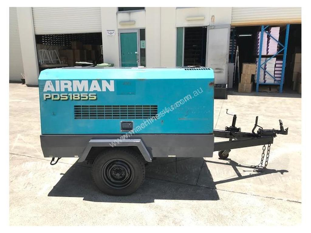 Used 2006 airman PDS185 Portable Diesel Compressor in Burleigh Heads, QLD  Price: $14,300 <415665>