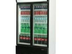 Bromic GM1000L Upright Fridge 2 Glass door (Black) - picture0' - Click to enlarge