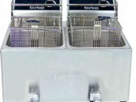 Birko Fryer Bench Top 5Lt Double Pan - picture0' - Click to enlarge