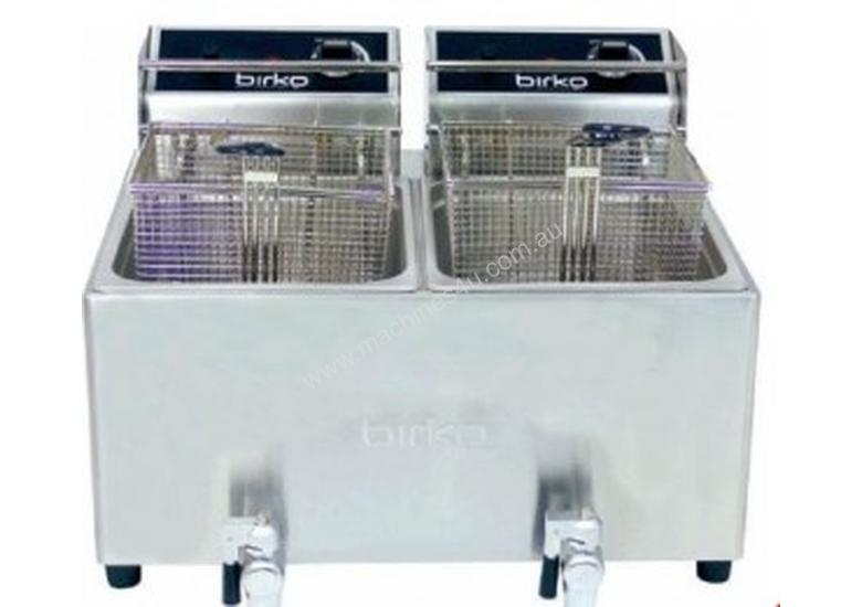 Birko Fryer Bench Top 5Lt Double Pan