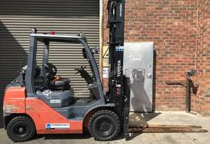 Toyota  LPG / Petrol Counterbalance Forklift