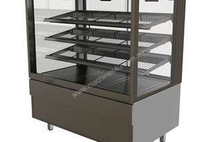 FPG 4H08-SQ-FF 4000 Square Series Heated Fixed Front Food Cabinet - 800mm