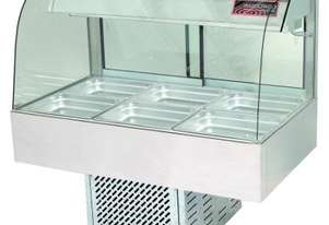 Woodson W.CFC24 Cold Food Bar - Curved Glass 1355mm