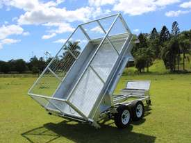 Ozzi 10x6 Hydraulic Tipper Trailer - picture0' - Click to enlarge