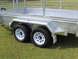 Ozzi 10x6 Hydraulic Tipper Trailer - picture1' - Click to enlarge