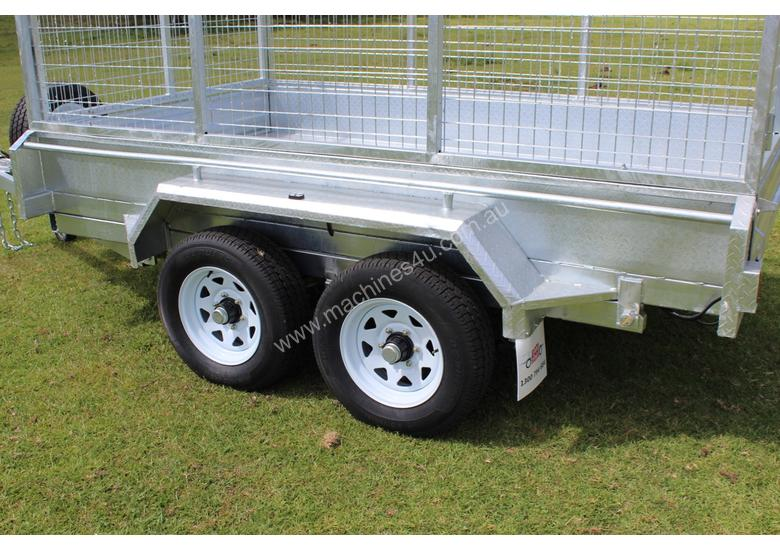 Ozzi 10x6 Hydraulic Tipper Trailer