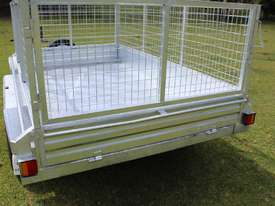 Ozzi 10x6 Hydraulic Tipper Trailer - picture2' - Click to enlarge